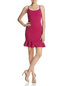 AQUA - Flounced-Hem Dress - 100% Exclusive