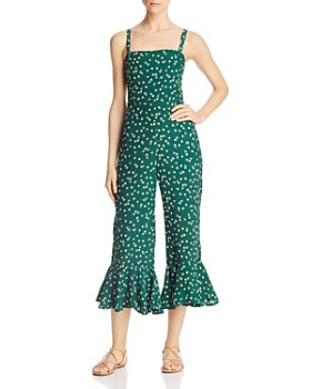 31f3bdd56b77 Faithfull the Brand - Lea Flounced Jumpsuit ...
