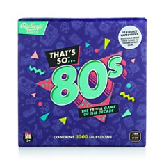 Ridley's Games Room - That's So 80's Trivia