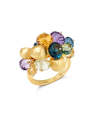 Marco Bicego 18K Yellow Gold Gemstone Cocktail Ring