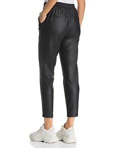 Vero Moda - Eva Faux-Leather Drawstring Pants