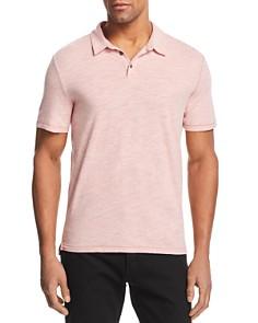 John Varvatos Star USA - Greg Heathered Knit Regular Fit Polo