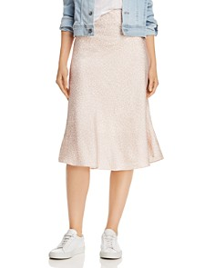 Lucy Paris - Katia Leopard Midi Skirt