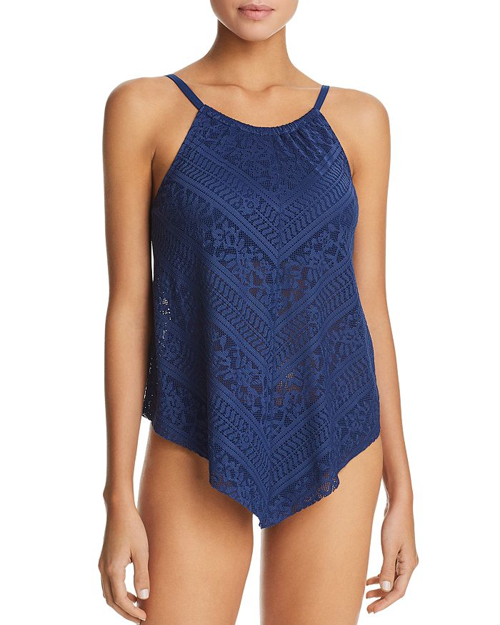 Bleu Rod Beattie - Flyaway Underwire Tankini Top & Side Tab Hipster Tankini Bottom