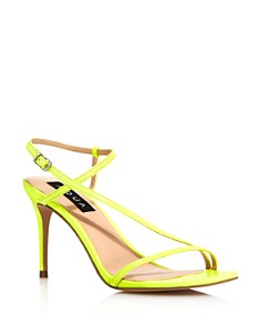 AQUA - Women's Roni Neon High-Heel Sandals