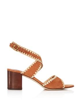 dedc5acd1470a0 ... Tory Burch - Women s Arianne Suede Block Heel Sandals - 100% Exclusive