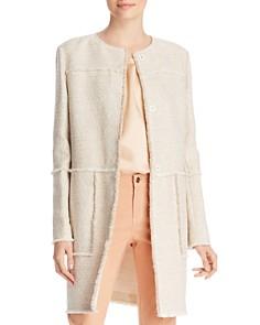 Lafayette 148 New York - Francine Fringe-Trim Jacket