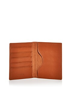 Shinola - Leather Passport Wallet