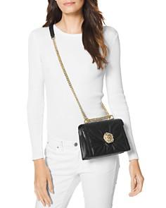 MICHAEL Michael Kors - Whitney Leather Convertible Shoulder Bag