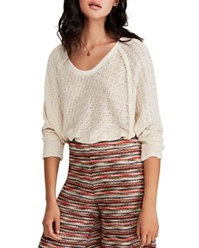 Free People - Thien's Dolman-Sleeve Sweater