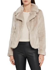 REISS - Aila Faux-Fur Jacket