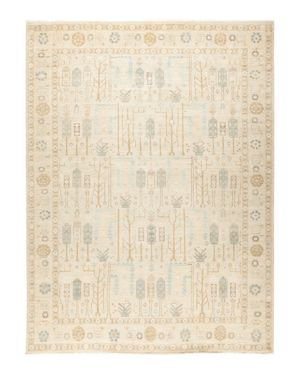 Solo Rugs Oushak Monahen Hand-Knotted Area Rug, 9'2 x 12'3