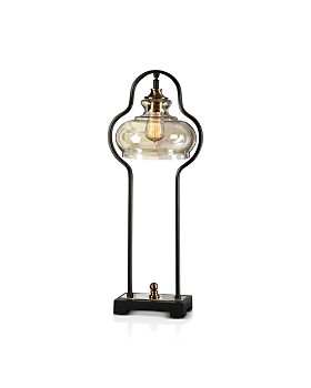 Uttermost - Cotulla Aged Black Desk Lamp