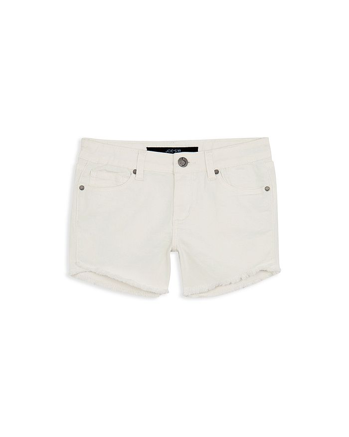 JOE'S - Girls' The Markie Denim Shorts in White - Big Kid