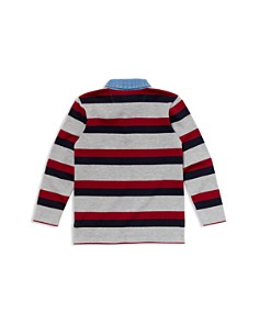 Lacoste - Boys' Striped Rugby Shirt - Little Kid, Big Kid