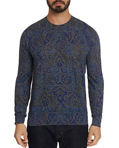 Robert Graham - Cairo Tile-Patterned Sweater