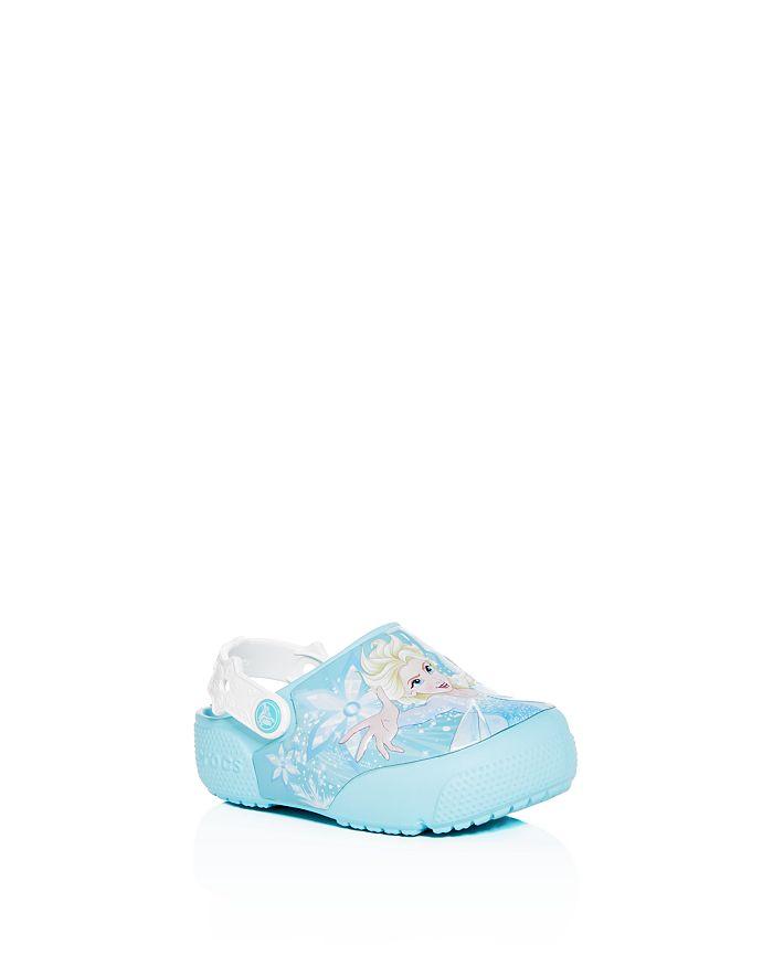 c9563e2a8147 Crocs - Disney© Girls' Frozen Elsa Clogs - Walker, Toddler, Little Kid