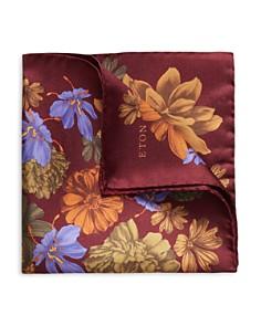 Eton - Oversized-Floral Pocket Square