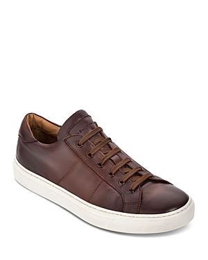 To Boot New York Men\\\'s Colton Leather Low-Top Sneakers