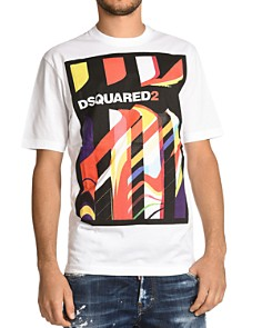 DSQUARED2 - Logo 3D Graphic Tee