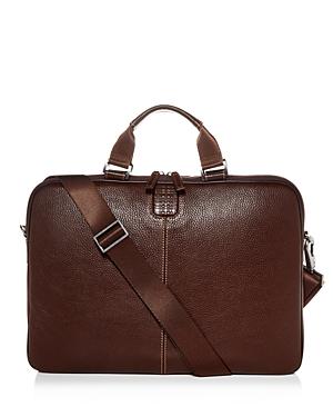 Boconi Tyler Leather Sleeve Briefcase