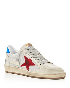 Golden Goose Deluxe Brand - Men's Ball Star Leather Low-Top Sneakers