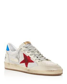 Golden Goose Deluxe Brand - Men's Ball Star Leather Low-Top Sneakers