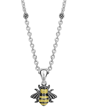 Lagos 18K Yellow Gold & Sterling Silver Rare Wonders Honeybee Pendant Necklace, 18-Jewelry & Accessories