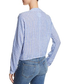 Rails - Sloane Striped Tie-Front Top