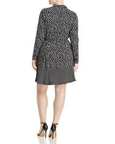 JUNAROSE Plus - Lisia Printed Drawstring Shirt Dress