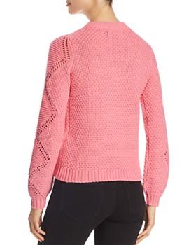 Vero Moda - Wishi Peacock Lace-Knit Sweater