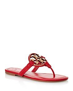 Tory Burch - Women's Metal Miller Thong Sandals