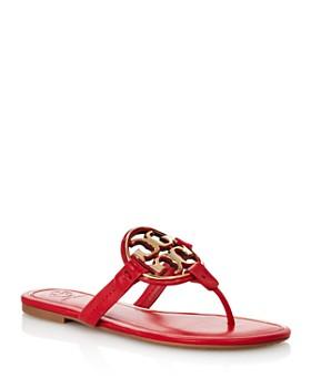 cheap for discount b7efa 78bb2 Tory Burch - Women s Metal Miller Thong Sandals ...