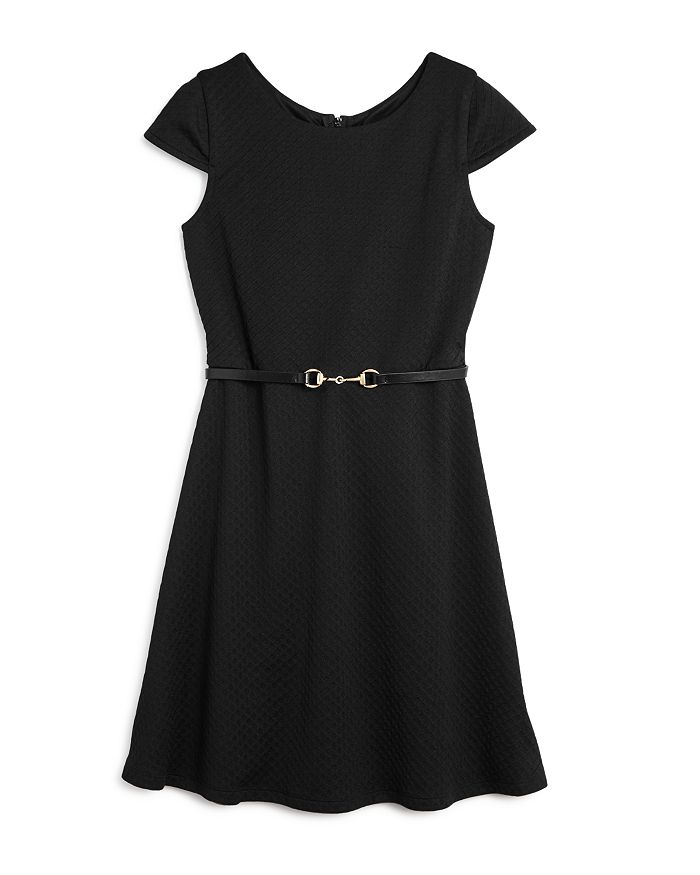 US Angels - Girls' Cap Sleeve Fit-and-Flare Dress, Big Kid - 100% Exclusive