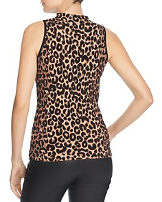 MILLY - Knit Leopard Top