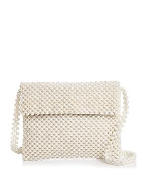 667352f715c4 AQUA - Evie Faux Pearl Shoulder Bag - 100% Exclusive ...