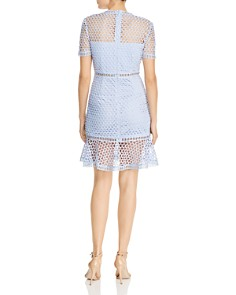 AQUA - Flounced Lace Dress - 100% Exclusive