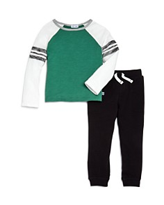 Splendid - Boys' Raglan Shirt & Jogger Pants Set - Little Kid