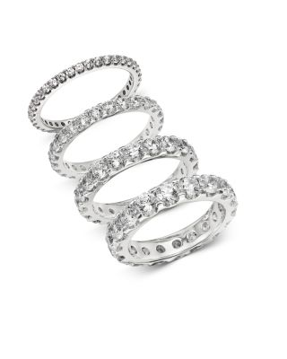 Diamond Eternity Band in 14K White Gold, 0.50 ct. t.w. - 100% Exclusive