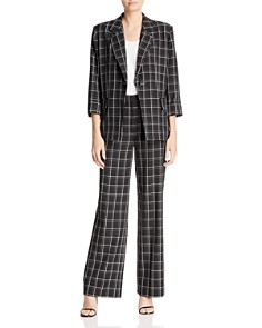 Fame and Partners - The Hazel Plaid Blazer - 100% Exclusive