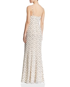 Fame and Partners - Carmela Polka-Dot Gown