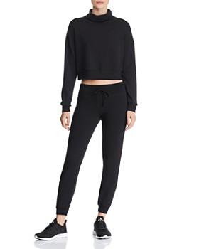 Beyond Yoga - All Time Fleece Cropped Sweatshirt