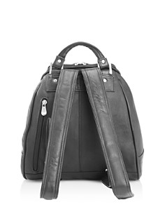ROYCE New York - Leather Sling Backpack