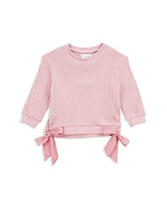 Sovereign Code - Girls' Caroline Bow Sweatshirt - Little Kid, Big Kid