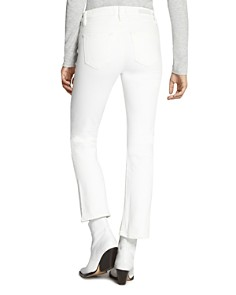 Sanctuary - Connector Cropped Flare Jeans in Angeleno White