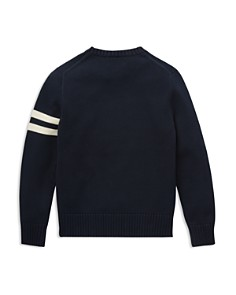 Ralph Lauren - Boys' Embroidered Polo-Bear Sweater - Big Kid
