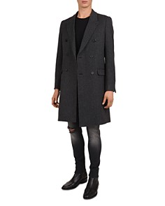 The Kooples - Neo Houndstooth Double-Breasted Coat