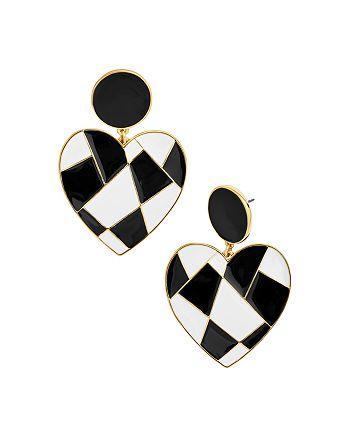 BAUBLEBAR - Erissa Heart Drop Earrings