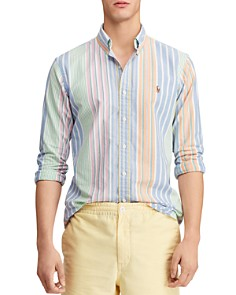 Polo Ralph Lauren - Patterned Classic Fit Button-Down Oxford Shirt