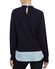 Ted Baker - Lissiah Bobble Layered-Look Sweater